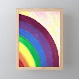 rainbow love (z) Framed Mini Art Print