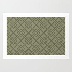 Simple Geometric Art Print