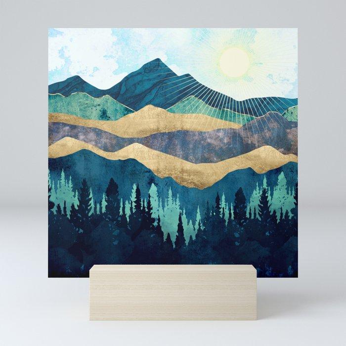 Blue Forest Mini Art Print