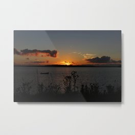 Sunset over Georgetown Metal Print
