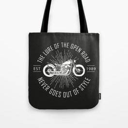The lure of the open road never goes out of style Tote Bag