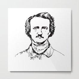 Edgar Allan Poe Vintage gift Metal Print