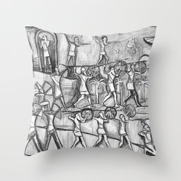 I Come in Peace Throw Pillow