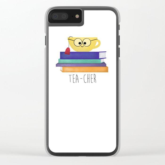 Teacher Clear iPhone Case