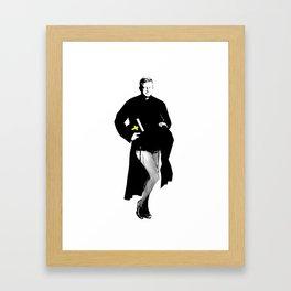 Sassy Priest Framed Art Print