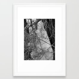 Mother Mary Comes to Me Framed Art Print