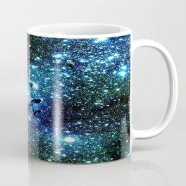 Ocean Blue Space Galaxy : Eagle Nebula Coffee Mug