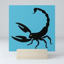 Angry Animals - Scorpion Mini Art Print