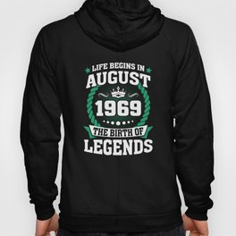 August 1969 The Birth Of Legends Hoody