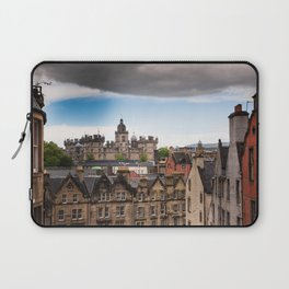 View of Edinburgh architecture from Victoria Street Laptop Sleeve