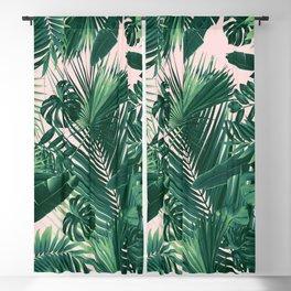 Jungle Leaves Siesta #1 #tropical #decor #art #society6 Blackout Curtain