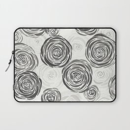 Pile of Black Roses Laptop Sleeve