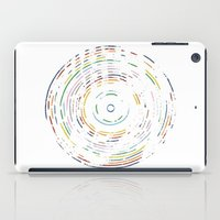 record iPad Cases featuring Rainbow Record by Project M
