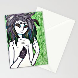 Pale Figure Stationery Cards