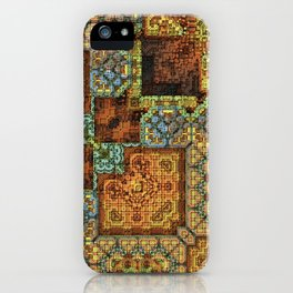 Patchwork Pattern iPhone Case