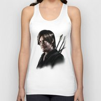 daryl dixon Tank Tops featuring Daryl Dixon by Angelo Quintero