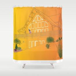 Design by Izzy Resendez Shower Curtain