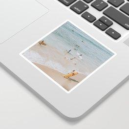 lets surf iii Sticker