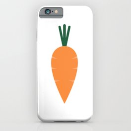 carrot iPhone Case
