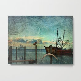Somewhere...beyond the sea Metal Print