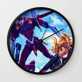 Neon Genesis Evangelion Wall Clock