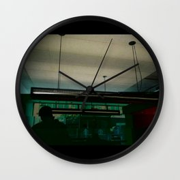 Candid Darks Wall Clock