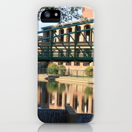 Red Brick Reflections iPhone Case