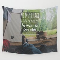 camp Wall Tapestries featuring Camp Life by Skyler Wagoner