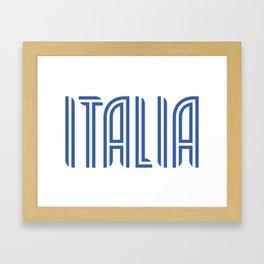 Italia/Italy Framed Art Print