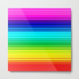 Rainbow love Metal Print