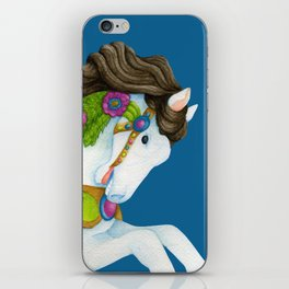 Carousel Horse - Gayle iPhone Skin