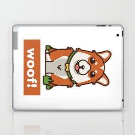 Cute Pembroke Cardigan Welsh Corgi Pet Dog Lover Laptop & iPad Skin