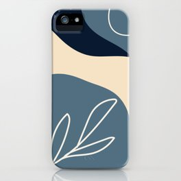 NATURE ABSTRACT ART iPhone Case