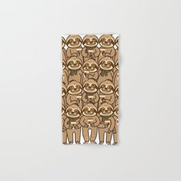 Sloth Coffee Hand & Bath Towel