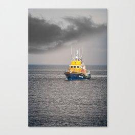 RNLI Lifeboat Canvas Print