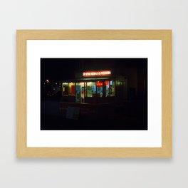 Star Kebab Framed Art Print