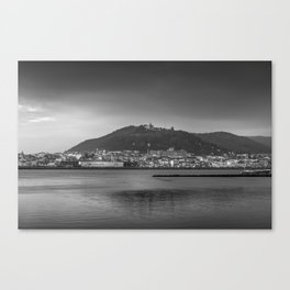 Santa Luzia, Viana do Castelo. Canvas Print