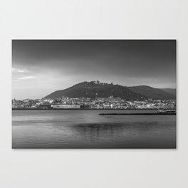 Santa Luzia, Viana do Castelo. Canvas Print