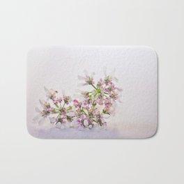 Cilantro flower - Botanical Photography Bath Mat