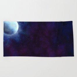 Painted Space Beach Towel
