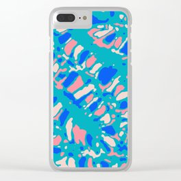 Coral Reef Sunlight Dream Clear iPhone Case