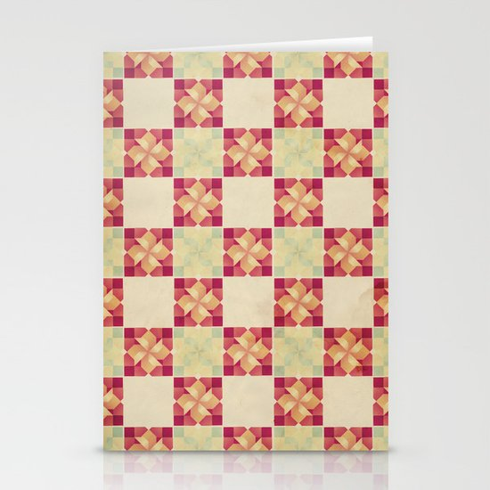 Vintage Tiles Stationery Cards