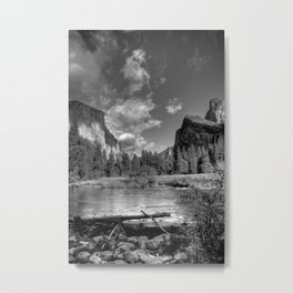 Merced River Under El Capitan, Yosemite Valley, October 2010 Metal Print