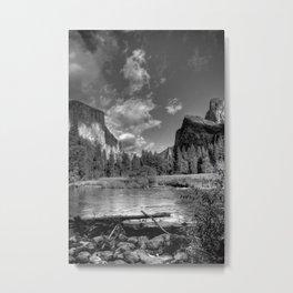 Merced River Under El Capitan, Yosemite Valley, October 2010 Metal Print