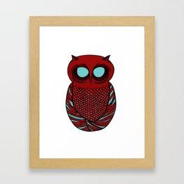 Owl Framed Art Print