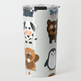 Paws tails and wings Travel Mug