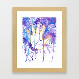 Hand me that Watercolor Framed Art Print