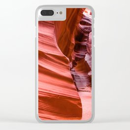Deep Inside - Antelope Canyon in Desert Southwest Clear iPhone Case