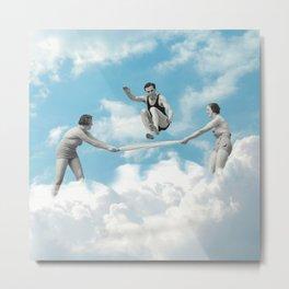 Jumping The Sky Metal Print
