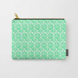 Lattice Pattern (Mint) Carry-All Pouch
